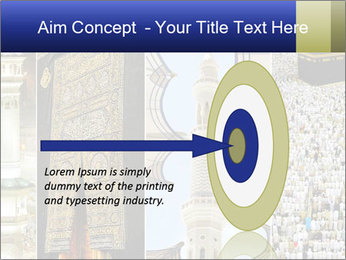 Composition on Hajj PowerPoint Template - Slide 83