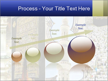 Composition on Hajj PowerPoint Template - Slide 87