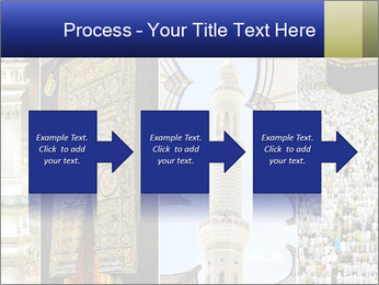 Composition on Hajj PowerPoint Template - Slide 88