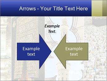 Composition on Hajj PowerPoint Templates - Slide 90