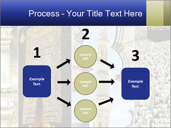 Composition on Hajj PowerPoint Template - Slide 92