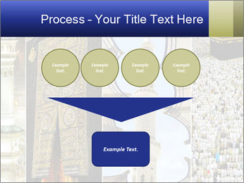 Composition on Hajj PowerPoint Template - Slide 93