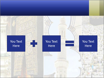 Composition on Hajj PowerPoint Template - Slide 95