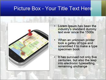 Smartphone with navigator PowerPoint Template - Slide 13