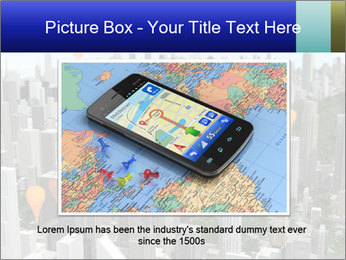 Smartphone with navigator PowerPoint Template - Slide 15