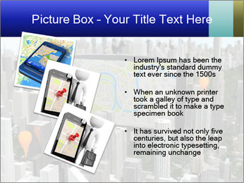 Smartphone with navigator PowerPoint Template - Slide 17