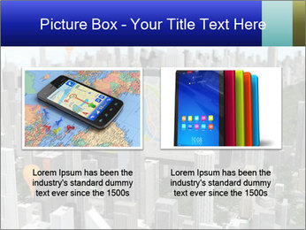 Smartphone with navigator PowerPoint Template - Slide 18