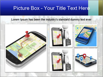 Smartphone with navigator PowerPoint Template - Slide 19