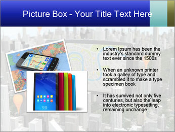 Smartphone with navigator PowerPoint Template - Slide 20