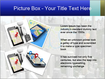 Smartphone with navigator PowerPoint Template - Slide 23