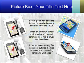 Smartphone with navigator PowerPoint Template - Slide 24