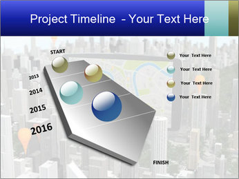Smartphone with navigator PowerPoint Template - Slide 26