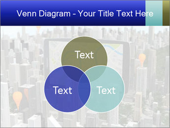 Smartphone with navigator PowerPoint Template - Slide 33