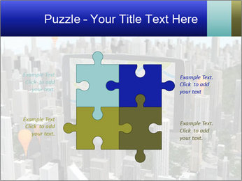 Smartphone with navigator PowerPoint Templates - Slide 43