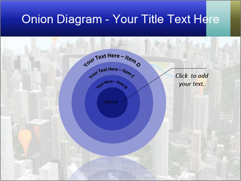 Smartphone with navigator PowerPoint Template - Slide 61