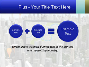 Smartphone with navigator PowerPoint Template - Slide 75