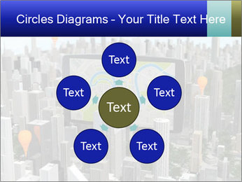 Smartphone with navigator PowerPoint Template - Slide 78