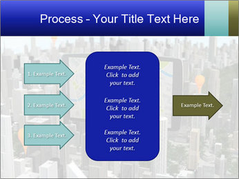 Smartphone with navigator PowerPoint Template - Slide 85