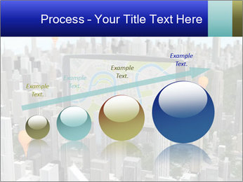 Smartphone with navigator PowerPoint Template - Slide 87