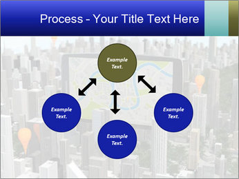 Smartphone with navigator PowerPoint Template - Slide 91