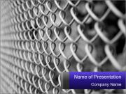 Wire fence PowerPoint Templates