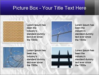 Wire fence PowerPoint Template - Slide 14