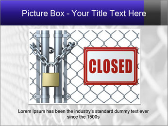 Wire fence PowerPoint Template - Slide 15