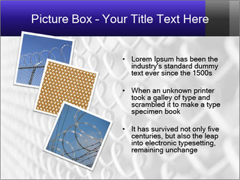 Wire fence PowerPoint Template - Slide 17