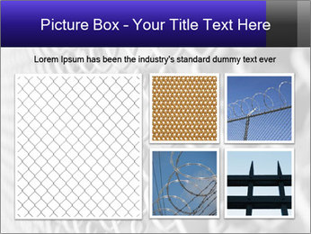 Wire fence PowerPoint Template - Slide 19