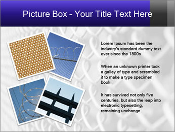 Wire fence PowerPoint Template - Slide 23