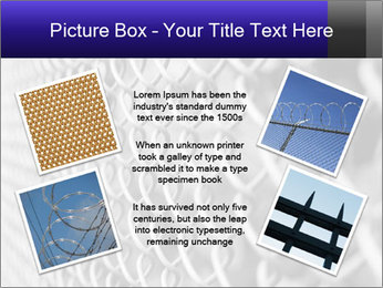 Wire fence PowerPoint Template - Slide 24