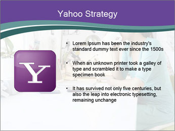 Side view of young businesswoman PowerPoint Template - Slide 11