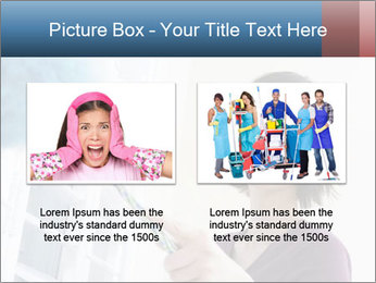 Closeup of a smiling Asian woman PowerPoint Template - Slide 18