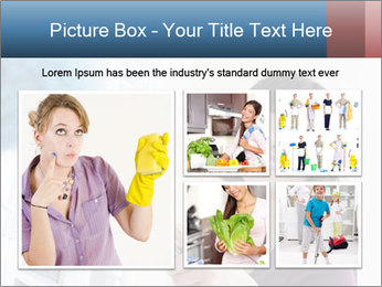 Closeup of a smiling Asian woman PowerPoint Template - Slide 19