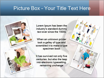 Closeup of a smiling Asian woman PowerPoint Template - Slide 24