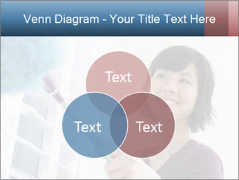 Closeup of a smiling Asian woman PowerPoint Template - Slide 33