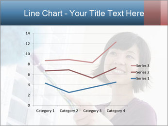 Closeup of a smiling Asian woman PowerPoint Template - Slide 54
