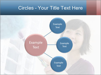 Closeup of a smiling Asian woman PowerPoint Template - Slide 79