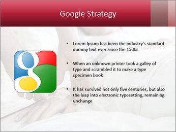 Closeup of hands PowerPoint Template - Slide 10