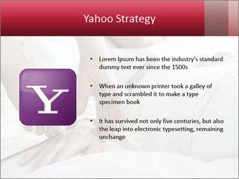 Closeup of hands PowerPoint Template - Slide 11