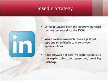 Closeup of hands PowerPoint Template - Slide 12