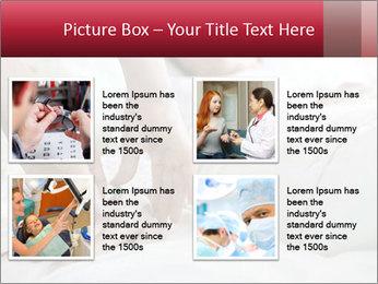 Closeup of hands PowerPoint Template - Slide 14