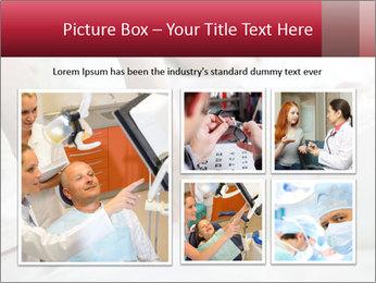 Closeup of hands PowerPoint Template - Slide 19