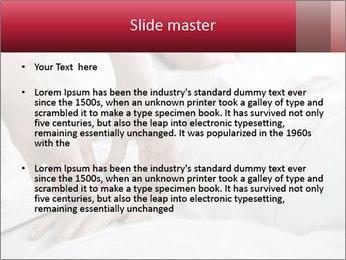 Closeup of hands PowerPoint Templates - Slide 2