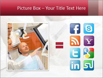 Closeup of hands PowerPoint Template - Slide 21