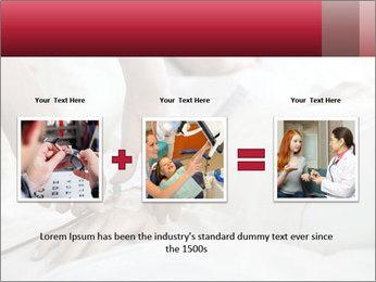 Closeup of hands PowerPoint Template - Slide 22