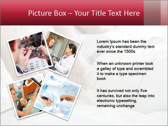 Closeup of hands PowerPoint Template - Slide 23
