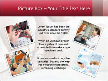 Closeup of hands PowerPoint Template - Slide 24