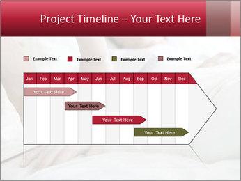 Closeup of hands PowerPoint Template - Slide 25