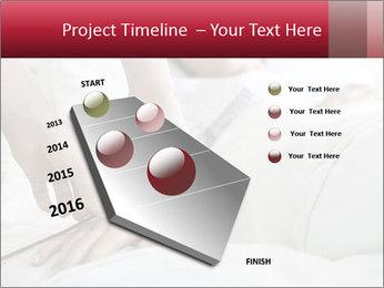 Closeup of hands PowerPoint Template - Slide 26